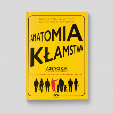 Okładka książki Anatomia kłamstwa w SQN Store front