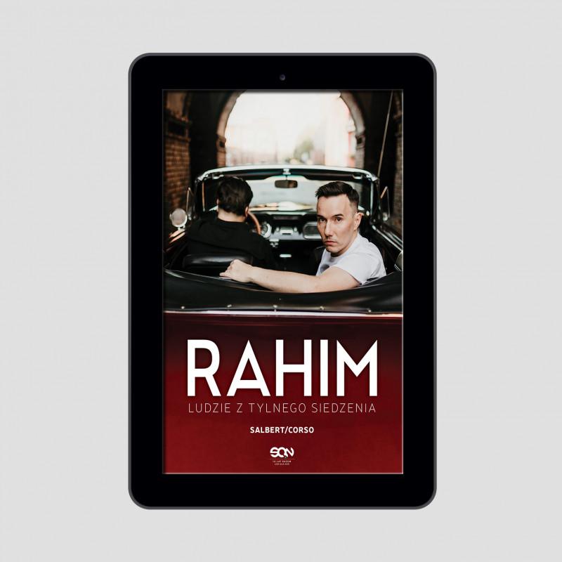 Zdjęcie okładki e-booka Rahim. Ludzie z tylnego siedzenia w księgarni SQN Store