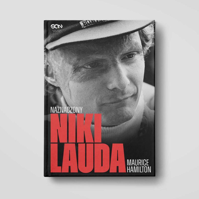 Zdjęcie okładki Niki Lauda. Naznaczony w księgarni SQN Store