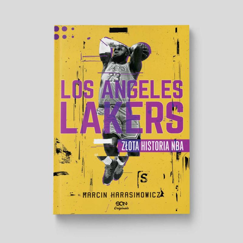 Zdjęcie okładki Los Angeles Lakers. Złota historia NBA. Wydanie II w księgarni SQN Store