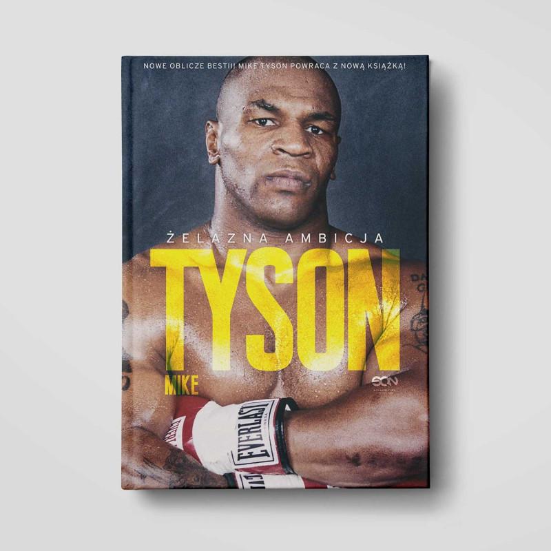 Okładka książki Tyson. Żelazna ambicja w SQN Store front