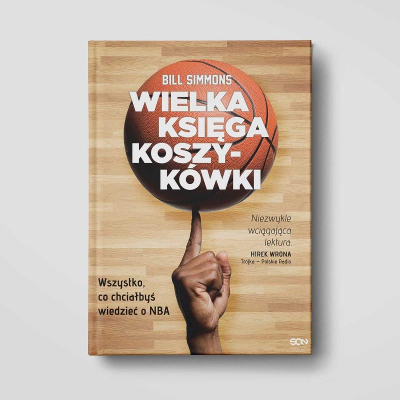 Okładka książki Wielka księga koszykówki w SQN Store front