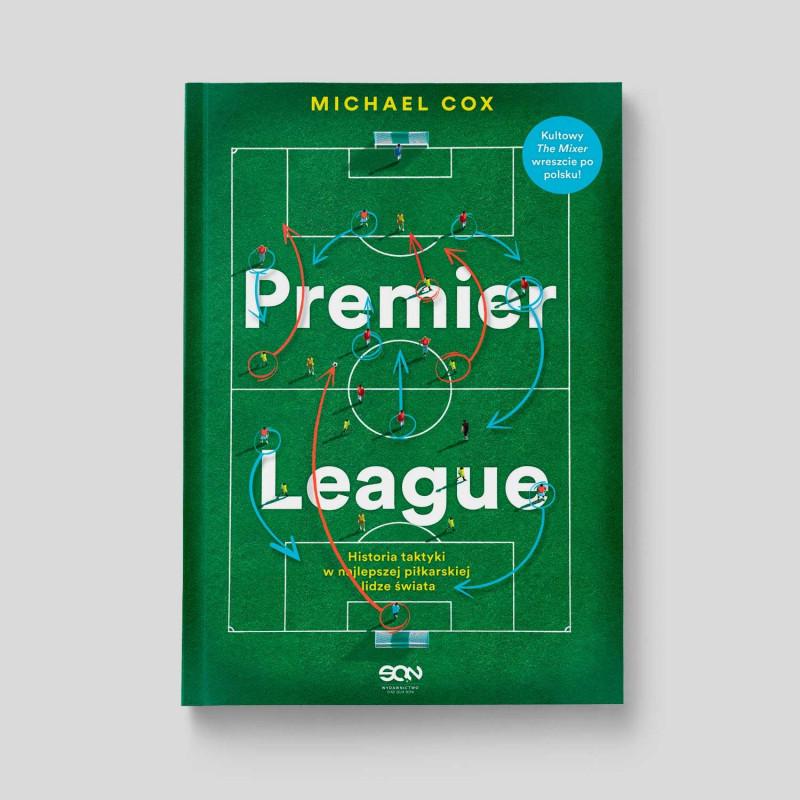 Okładka książki Premier League. Historia taktyki w najlepszej piłkarskiej lidze świata w SQN Store front