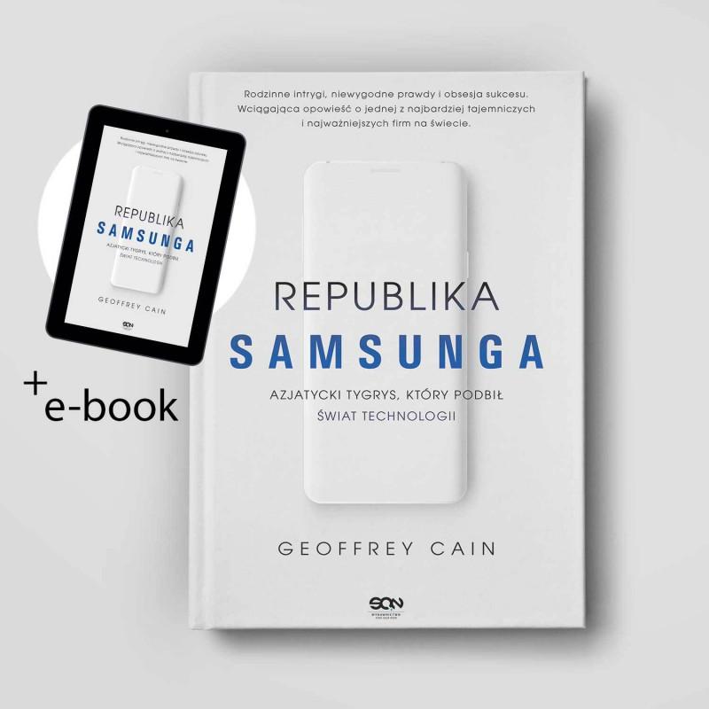 Zdjęcie pakietu Republika Samsunga w księgarni SQN Store