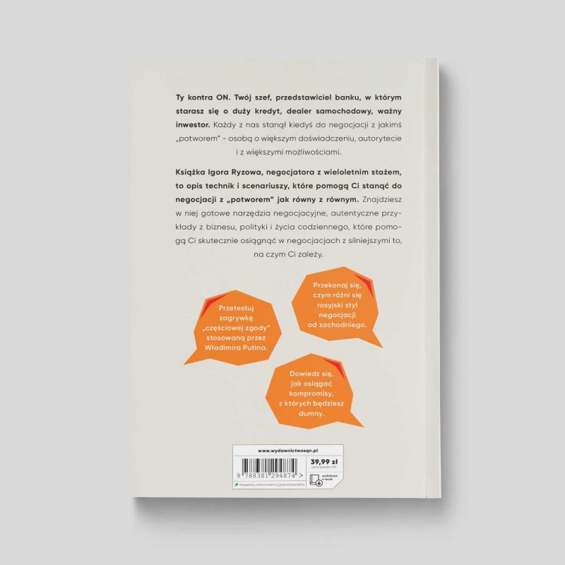 Zdjęcie okładki Negocjacje z potworami w księgarni SQN Store