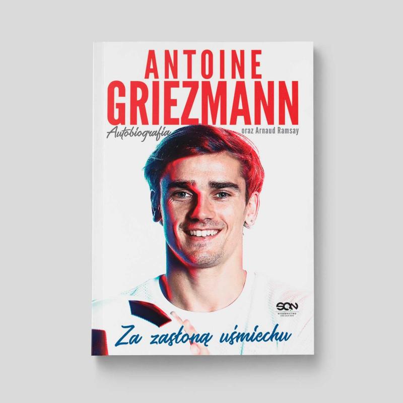 Okładka książki Antoine Griezmann. Za zasłoną uśmiechu. w SQN Store front
