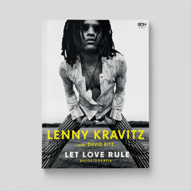 Okładka książki Lenny Kravitz. Let love rule. Autobiografia w księgarni SQN Store