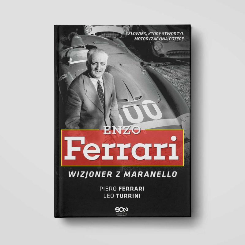 Okładka książki Enzo Ferrari. Wizjoner z Maranello w SQN Store front