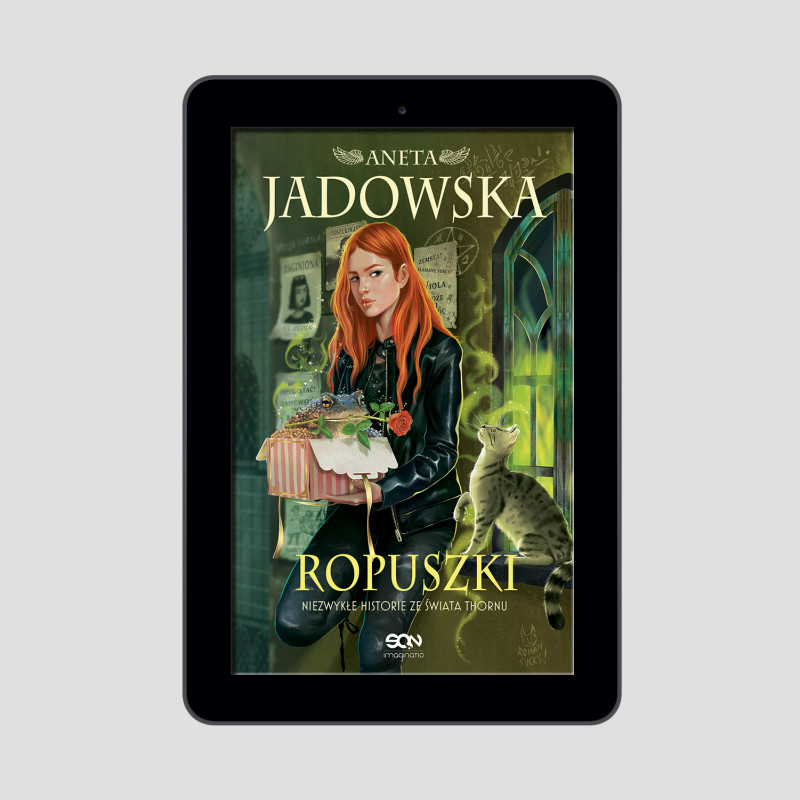 Okładka e-booka Ropuszki w księgarni SQN Store