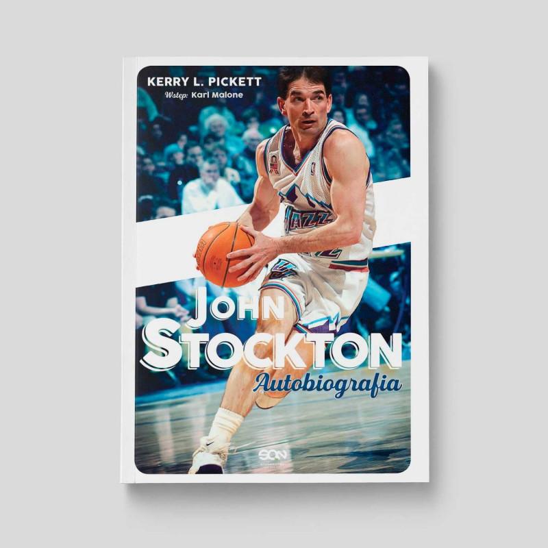 Okładka książki John Stockton. Autobiografia w SQN Store front