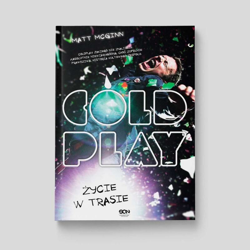 Okładka książki Coldplay. Życie w trasie w SQN Store front