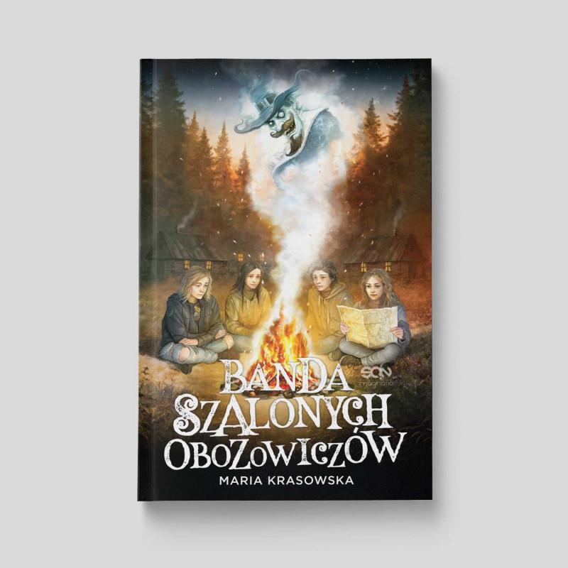Okładka książki Banda Szalonych Obozowiczów w księgarni SQN Store