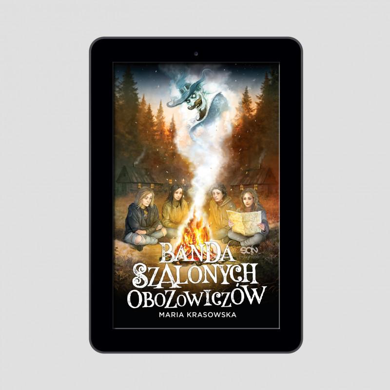 Okładka e-booka Banda Szalonych Obozowiczów w księgarni SQN Store