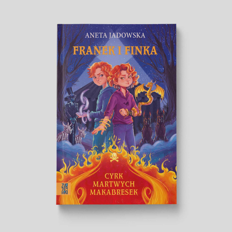 Okładka książki Franek i Finka. Cyrk martwych makabresek w księgarni SQN Store