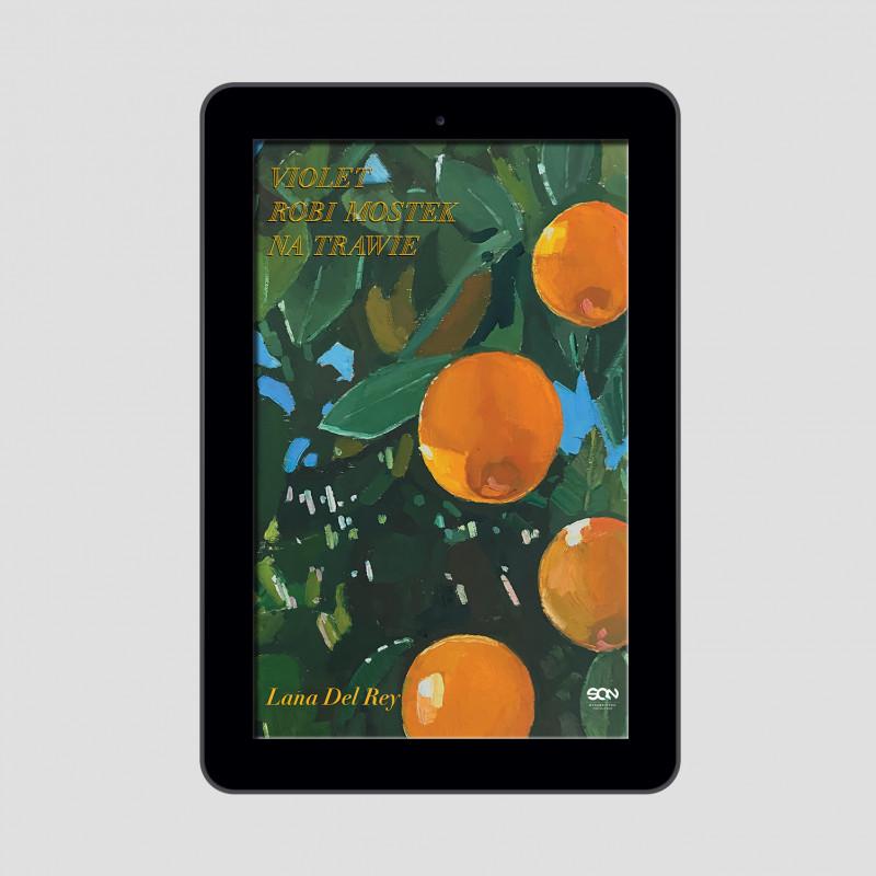 Okładka e-booka Violet robi mostek na trawie  w księgarni SQN Store