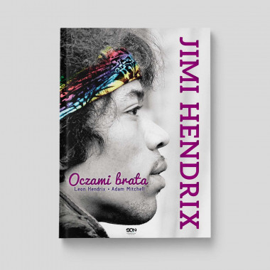 Okładka książki Jimi Hendrix. Oczami brata w SQN Store front