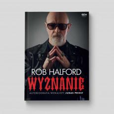 Okładka książki Rob Halford. Wyznanie. Autobiografia wokalisty Judas Priest w księgarni SQN Store