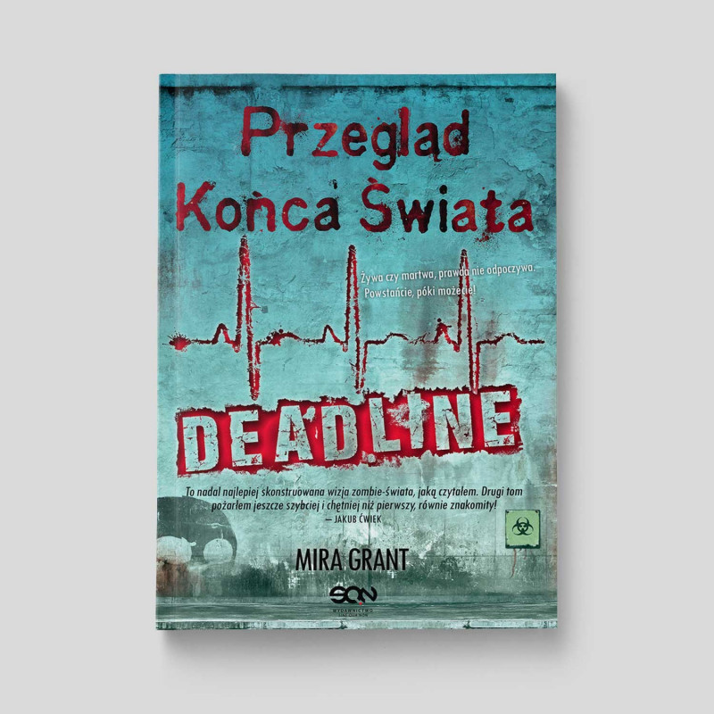 Okładka książki Przegląd Końca Świata: Deadline w SQN Store front