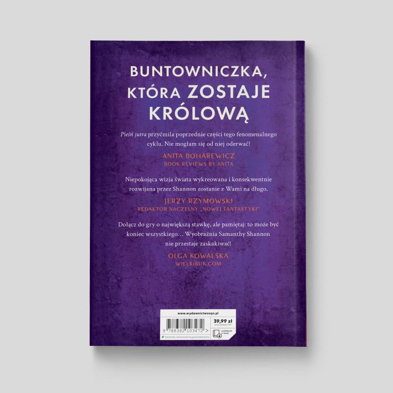 Okładka książki Czas żniw. Tom 3. Pieśń jutra (Wydanie II) w księgarni SQN Store