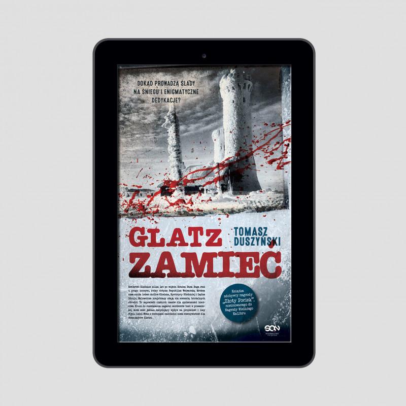Okładka e-booka Glatz. Zamieć w księgarni SQN Store