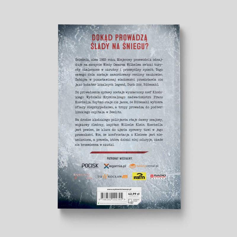 Okładka książki Glatz. Zamieć w księgarni SQN Store