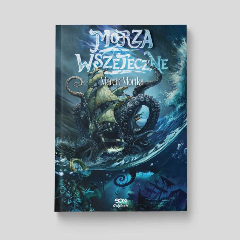 Okładka książki Morza Wszeteczne w księgarni SQN Store