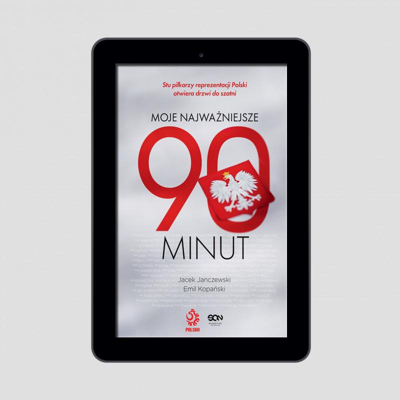 Okładka e-booka Moje najważniejsze 90 minut w księgarni SQN Store