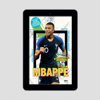 Okładka e-booka Mbappé. Nowy książę futbolu w księgarni SQN Store