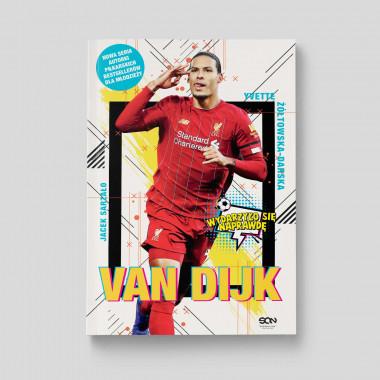 Okładka książki Van Dijk. Holenderska skała w księgarni SQN Store