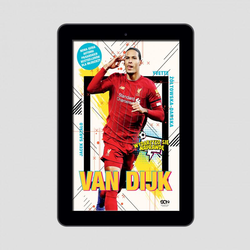 Okładka e-booka Van Dijk. Holenderska skała w księgarni SQN Store
