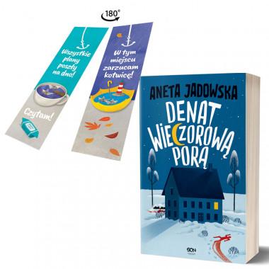 Zdjęcie pakietu Denat wieczorową porą + zakładka Martwy sezon w księgarni SQN Store