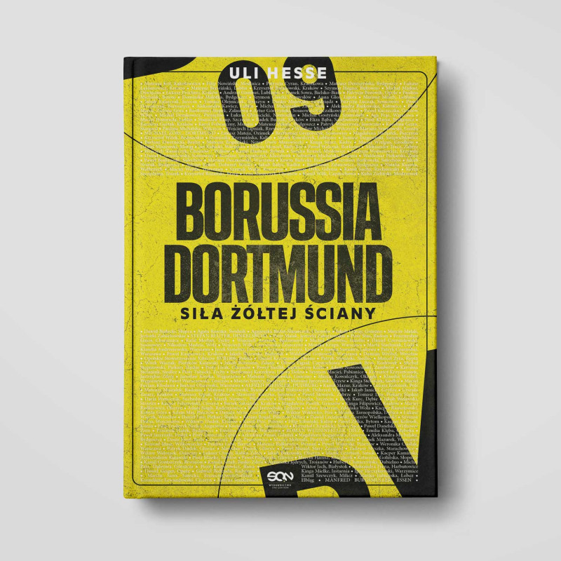Książka Borussia Dortmund. Siła Żółtej Ściany w SQN Store
