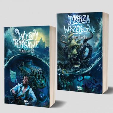 Zdjęcie pakietu SQN Originals: Wyspy plugawe + Morza Wszeteczne w księgarni SQN Store