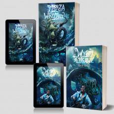 Zdjęcie pakietu SQN Originals: Wyspy plugawe + e-book + Morza Wszeteczne + e-book w księgarni SQN Store