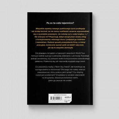 Okładka książki Anonimowy kolarz. Prawdziwe życie w zawodowym peletonie w księgarni SQN Store