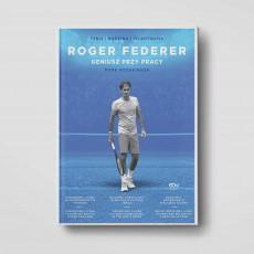 Okładka książki Roger Federer. Geniusz przy pracy w SQN Store