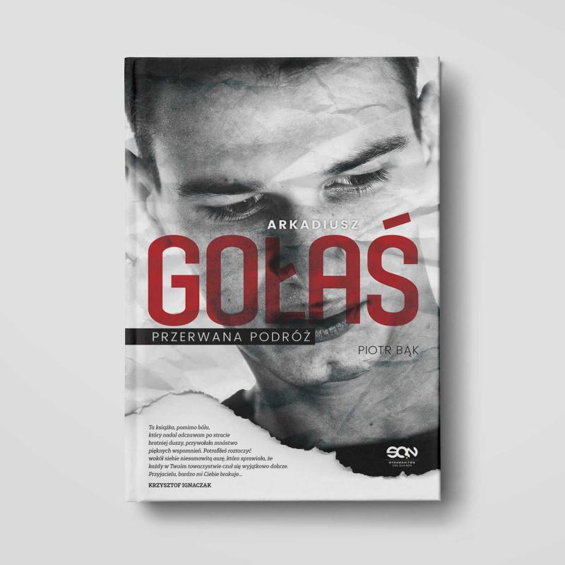 Okładka książki Arkadiusz Gołaś. Przerwana podróż w SQN Store