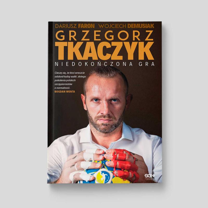 Okładka książki Grzegorz Tkaczyk. Niedokończona gra. Autobiografia w SQN Store