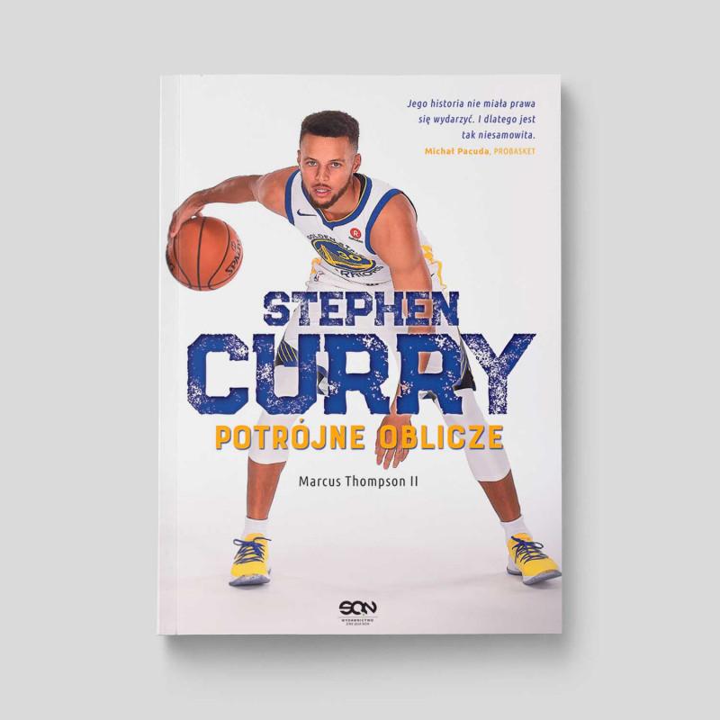 Okładka książki Stephen Curry. Potrójne oblicze w SQN Store front