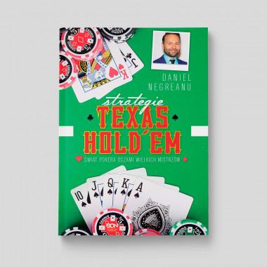 Okładka książki Strategie Texas Hold'em. Świat pokera oczami wielkich mistrzów w SQN Store front