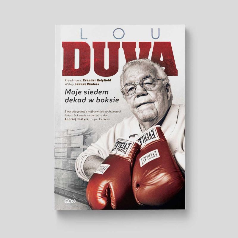Okładka książki Lou Duva. Moje siedem dekad w boksie w SQN Store front