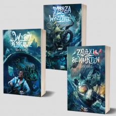 Zdjęcie pakietu SQN Originals: Zaułki St. Naarten + Wyspy plugawe + Morza Wszeteczne w księgarni SQN Store