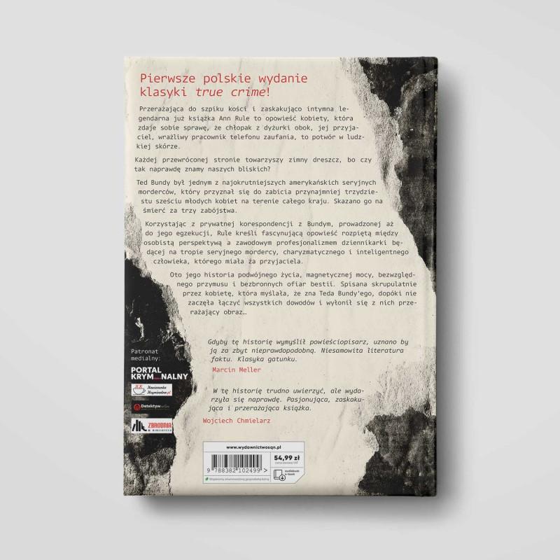 Okładka książki Bestia obok mnie. Historia znajomości z najsłynniejszym mordercą świata w księgarni SQN Store