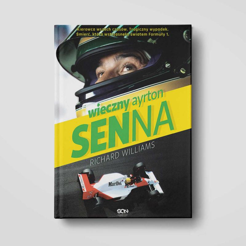 Okładka książki Wieczny Ayrton Senna w SQN Store front