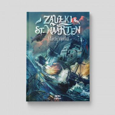 Okładka książki Zaułki St. Naarten w księgarni SQN Store