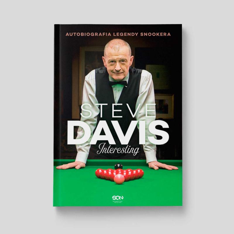 Okładka książki Steve Davis. Interesting. Autobiografia legendy snookera w SQN Store front