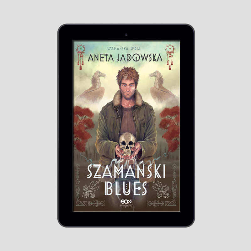 Okładka e-booka Szamański blues (Witkacy 1) w księgarni SQN Store