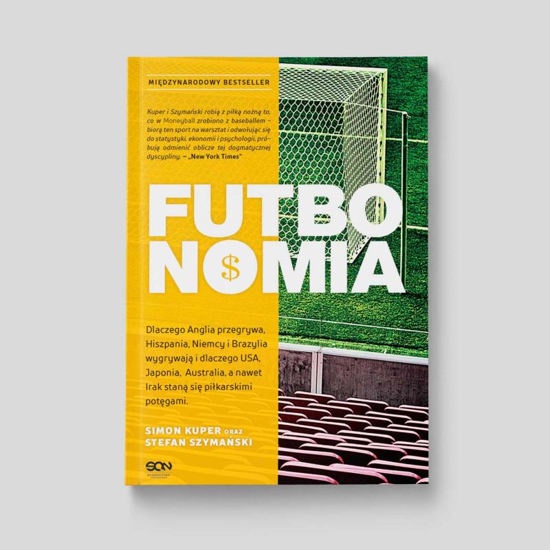 Okładka książki Futbonomia w SQN Store front