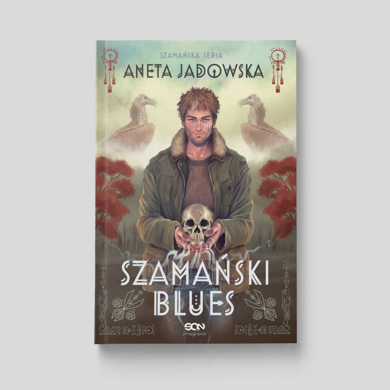 Okładka książki Szamański blues (Witkacy 1) w księgarni SQN Store