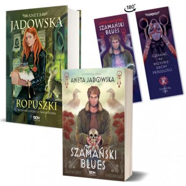 Zdjęcie pakietu Szamański blues (zakładka gratis) + Ropuszki w księgarni SQN Store